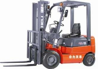 China H2000 Reihe 1-1.8T I.C. Counterbalanced Forkliftdiesel u. Gasoline/LPG, max. Hubhöhe 3000mm fournisseur