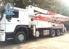 Building Construction Concrete Boom Pump Truck , Concrete Pump Truck 37m