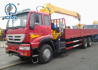 16T Truck Mounted  Crane Lorry Crane Truck With Crane Right Hand Type Can Be Choosed