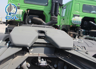 SINOTRUK HOWO Tractor Truck LHD 6X4 Euro2 420HP  10 Tires Tow Truck Color Customizable Prime Mover Truck