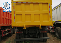 Green 6 x 4 Styre Heavy Duty Dump Truck Muck For Dumping Muck In City