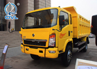 4x2 New Condition Light Duty Commercial Trucks / Howo Dump Truck CDW 5-10T
