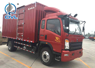 Light Duty Commercial Box Truck 6.50R16 Radius Tires WLY 525 Transmission cargo truck